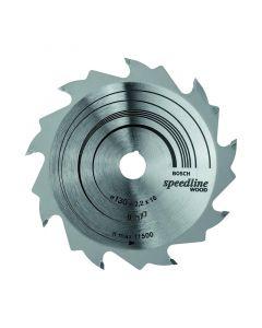Circular saw blade 130x2.0x16.0mm TCT z= 9 BOSCH 2608640774