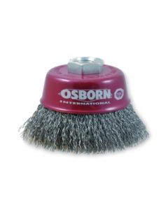 Cup brushes  75 M14x2 crimped zinc-coated wire 0.30mm 6618-613162 ECO OSBORN