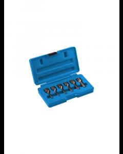 """Набор экстракторов для поврежденных болтов 3/8"""" 2-3-4-6-8-10mm HT8G402 HÖGERT"""