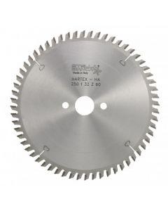 Circular saw blade  125x2.2x22.2 mm TCT z=30 HARTEX HA STELLA BIANCA 09812530
