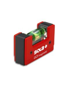 Compact spirit level GO! magnetic SOLA 01621101
