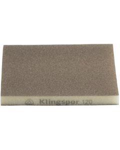 Abrasive sponge  120x 98x 13 grit 220 KLINGSPOR