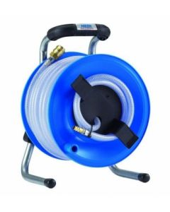 Сompressed-air hose reel PRIMUS 25m/6-2.5mm 12bar plastpoolil K1Y25L6 HEDI