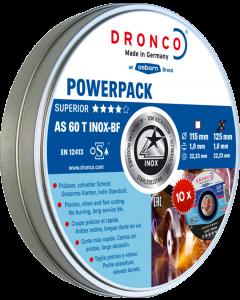 Отрезной круг 115x1.0x22 AS60T INOX metal tin 10tk SUPERIOR DRONCO 6900935100