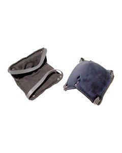 Knee pad full leather