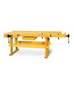 Wooden workbench PTH-2100NB 2060x815x95mm h=855mm PROMA 25069004