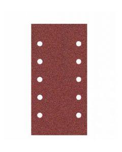 Hiomapaperi aukudega 115x230 (10x10mm) grain 120 G15 VELCRO  KLINGSPOR 114942