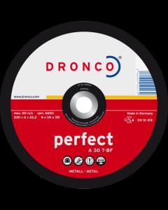 Hiomalaikka 100x6.0x16 A 30T perfect T42 DRONCO 3106040100