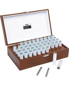 Kalibreeritud mõõte pulgade komplekt 4166-511  5.00-10.00mm  51tk. INSIZE
