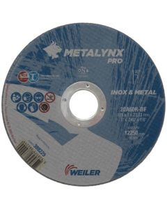 Lõikeketas 115x1.0x22 20A60R-BF METALYNX inox pro 388225