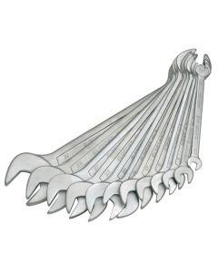 Рожковые ключи набор ( 6-27 10 шт.) No.2S 10M DIN3110 ELOFORT
