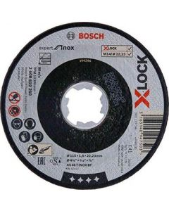 Отрезной диск 125x1.0x22 X-LOCK AS60TINOXBF BOSCH 2608619264