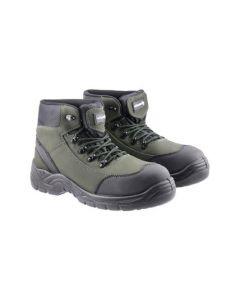 Ботинки защитные RANDOW S3 SRC черно-зеленые размер 44 HT5K562-44 HÖGERT