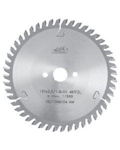 Circular saw blade 190x2.8x30mm  TCT  Z=54  Art. 225391  54  TFZ  L  PILANA