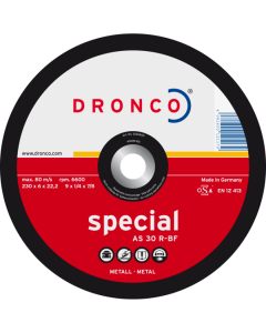Grinding disc 125x 4.0x22 AS30R superior T42 DRONCO 3124500100