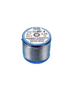 Fitting soldering wire Cu-Rotin®3 2.70mm  250g  250°C  S-Sn97Cu3 EN ISO 9453