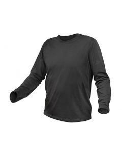 T-särk pikkade käistega puuvilla grafiit värv suurus 52 HT5K420-L HÖGERT