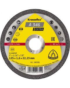 Отрезной круг 125x1.6x22 A 46inox EXTRA KLINGSPOR 263248