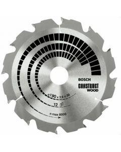 Circular saw blade 130x1.3x16.0mm TCT z=12 BOSCH 2608640831