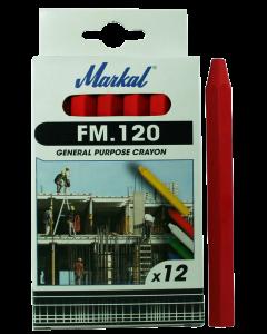 Kriit  FM.120 punane  MARKAL  44010300