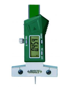 """Electronic depth gage 1145-25A 0-25mm 0.01/0.0005"""" INSIZE"""
