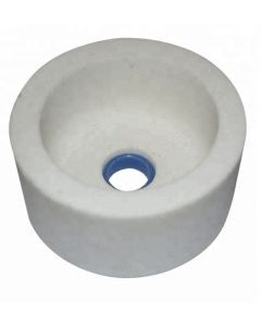 Чашка шлифовальная цилиндрическая Тип 6  125x 63x 32- 8x12 белый A99B F 60 L CARBORUNDUM
