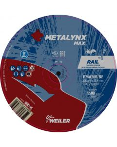 Отрезной диск 356x4.0x25.4 max rail E74A20R-BF METALINX 388395