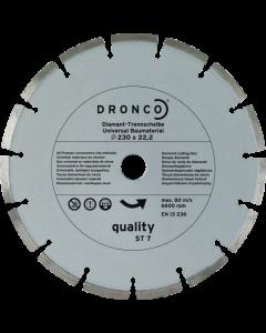 Teemantlõikeketas  230x2.4x22 ST-7 quality OSBORN/DRONCO 4230485100