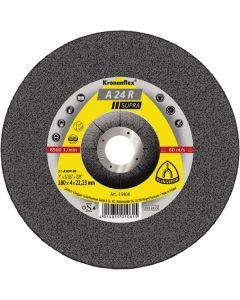Grinding disc 125x 6.0x22 A 24R SUPRA T42 KLINGSPOR 13402