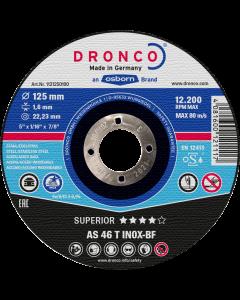 125x1.6x22 AS46T INOX Superior DRONCO 1121250100