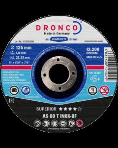 125x1.0x22 AS60T INOX SUPERIOR DRONCO 1121240100